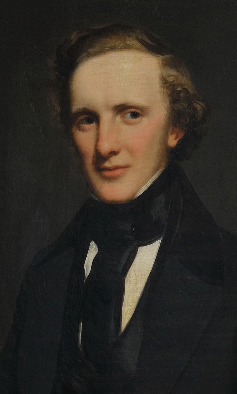 Lot 40: Henry Inman Portrait of James M. Bruen