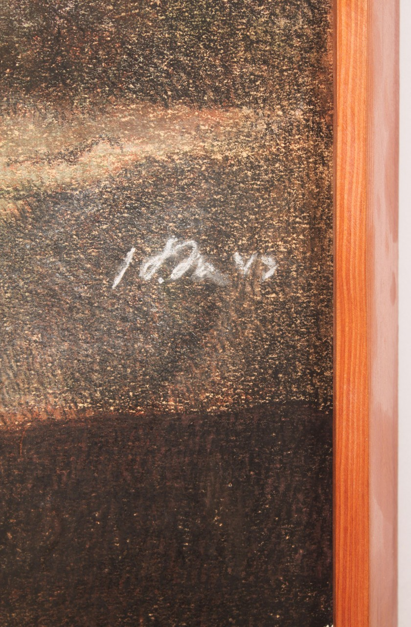 Lot 418: 2 Horst Schreck works, Pastel on paper & Drawing