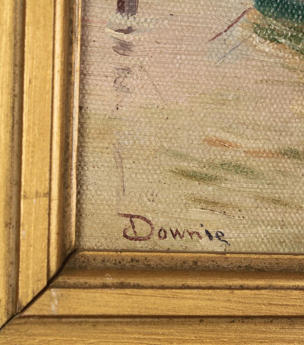 Lot 419: Janet Downie, Oil on Board