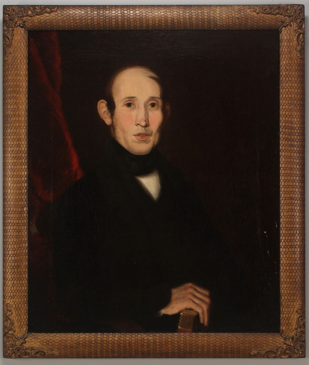 Lot 420: Sevier County, TN Portrait of a Gentleman, 19th c.