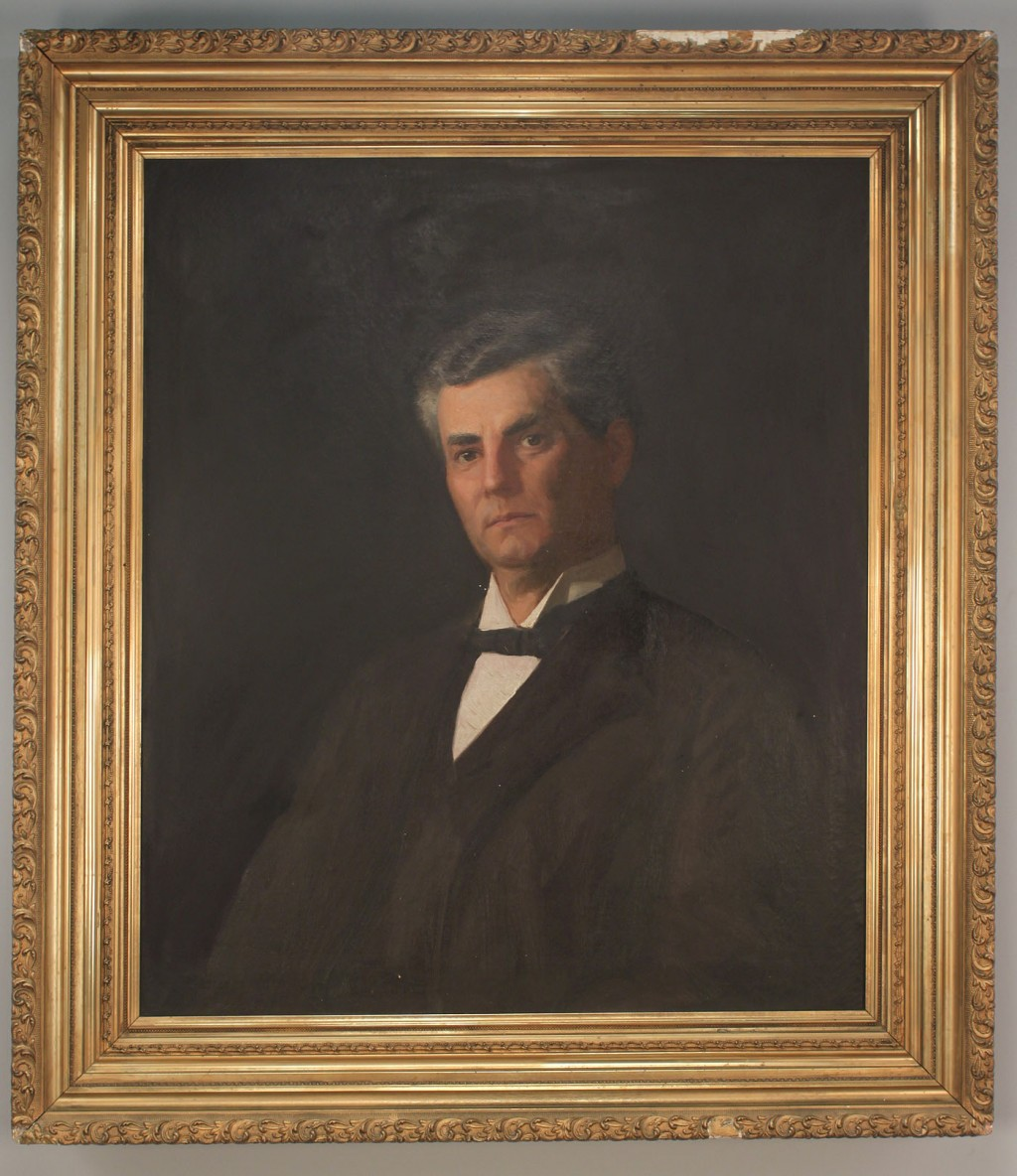 Lot 421: Portrait of Joseph Carlos Rich, Mayor of Mobile