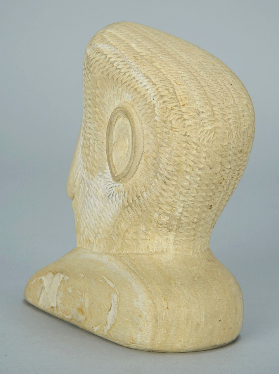 Lot 428: Sandstone Bust of William Edmondson