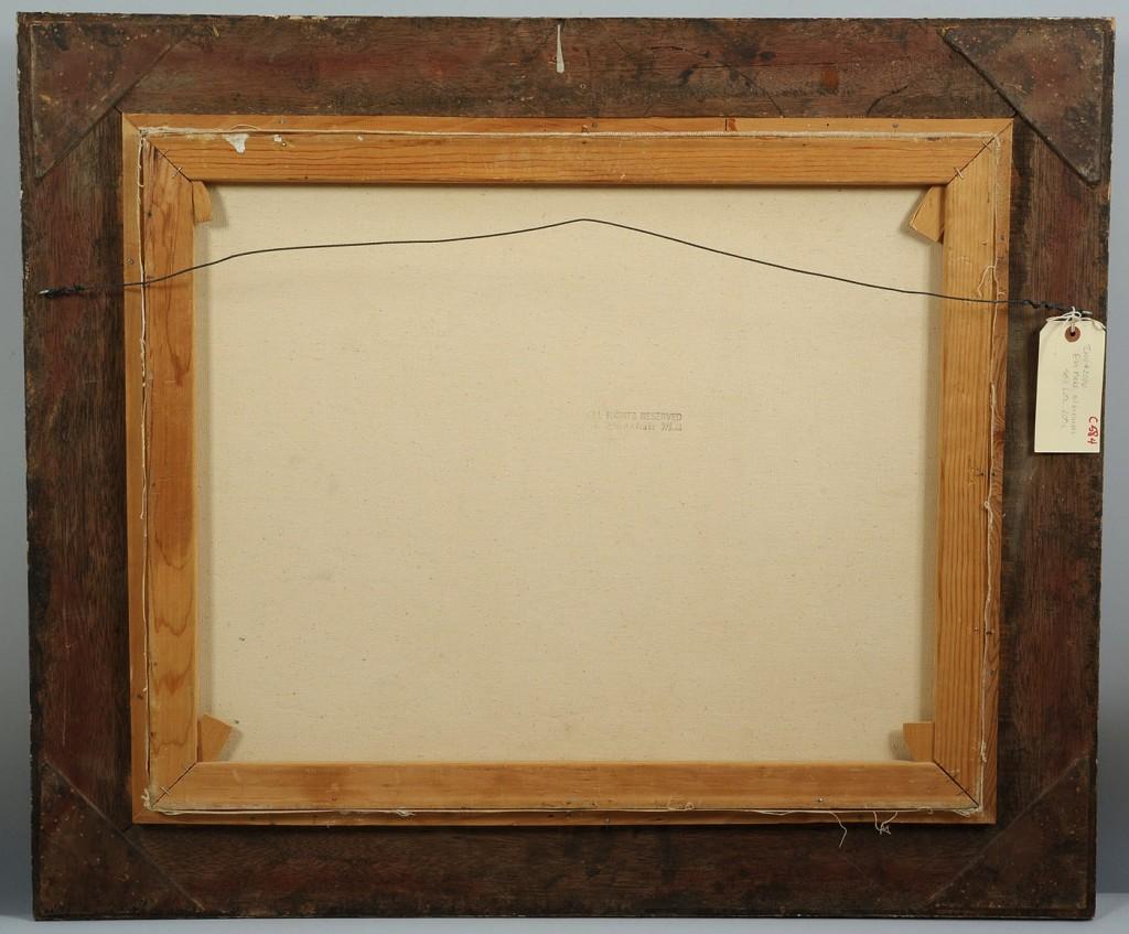 Lot 432: Eva Holusa Makk Oil on Canvas Still life