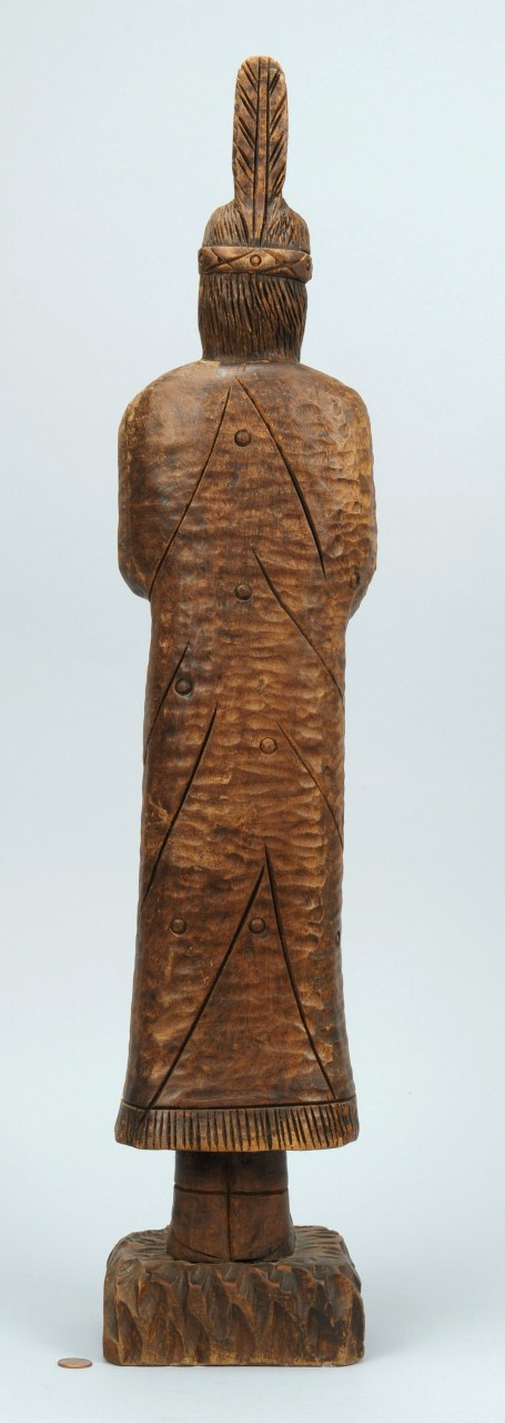 Lot 441: Indian carving by Clarence Stringfield