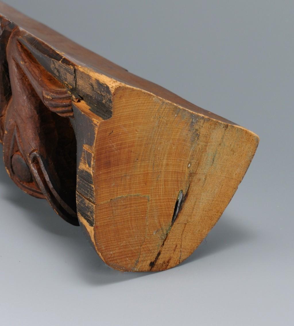 Lot 461: Northwest Coast Carved Wooden Totem Pole