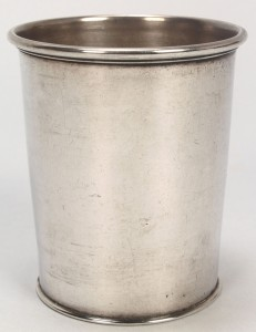Lot 46: GA sterling silver julep cup