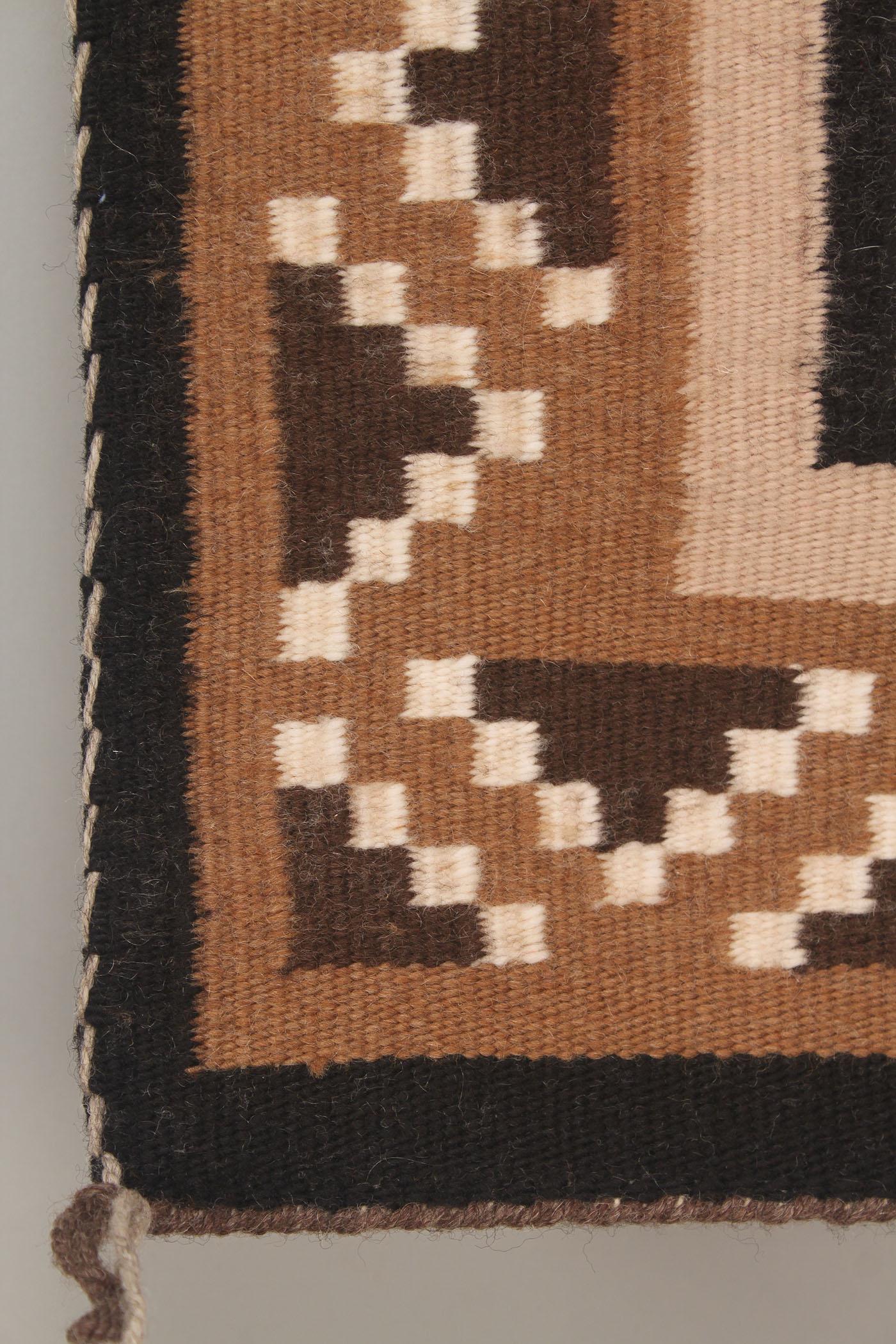 Lot 472 Navajo Weaving Rug Geometric Design