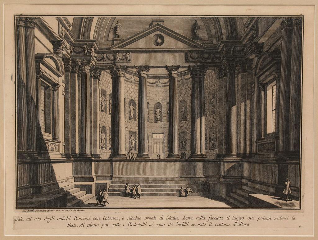 Lot 486: Piranesi architectural print