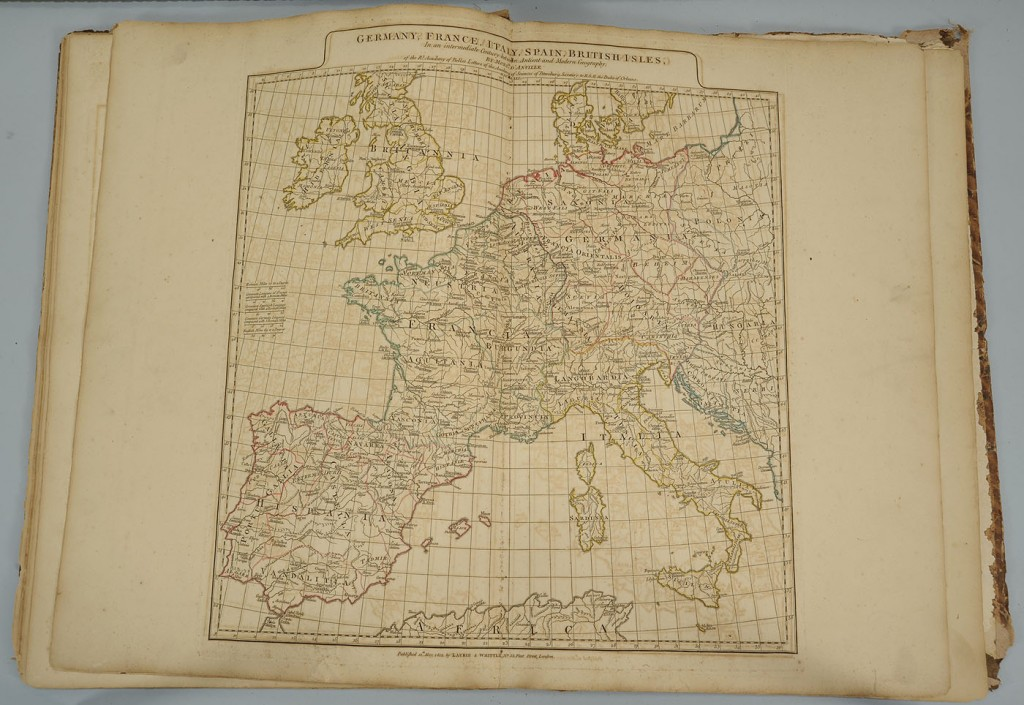 Lot 495: Grouping of 1794 French Maps, 13 total