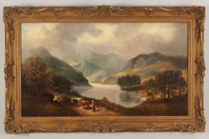 Lot 518: Edwin Edwards, British, Scottish landscape, 19th c