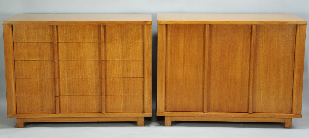 Lot 564: Dunbar Furniture Chest and Cabinet