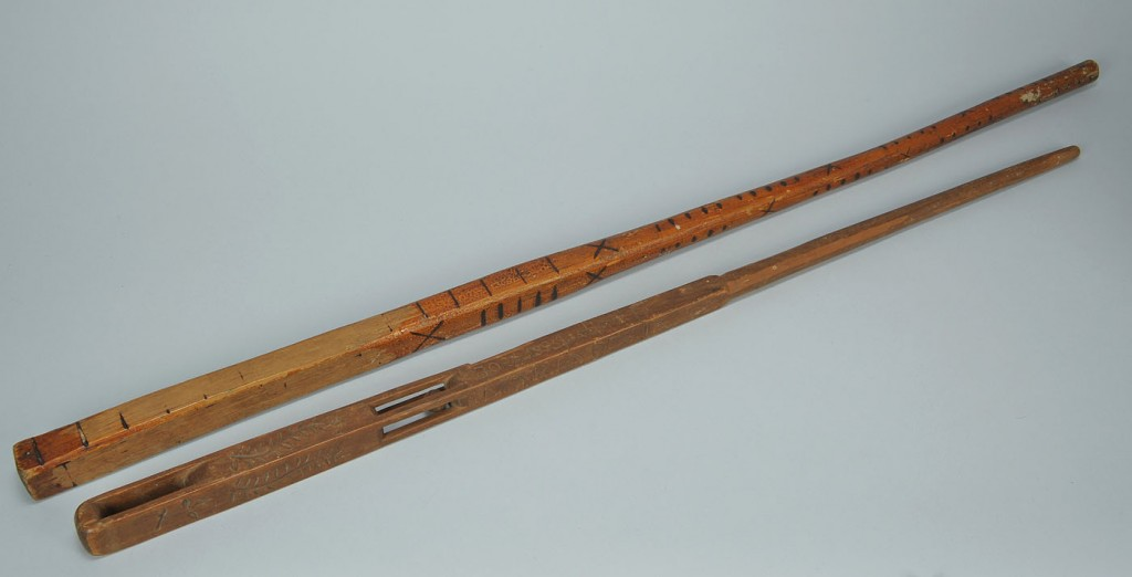 Lot 569: Two Tennessee Canes