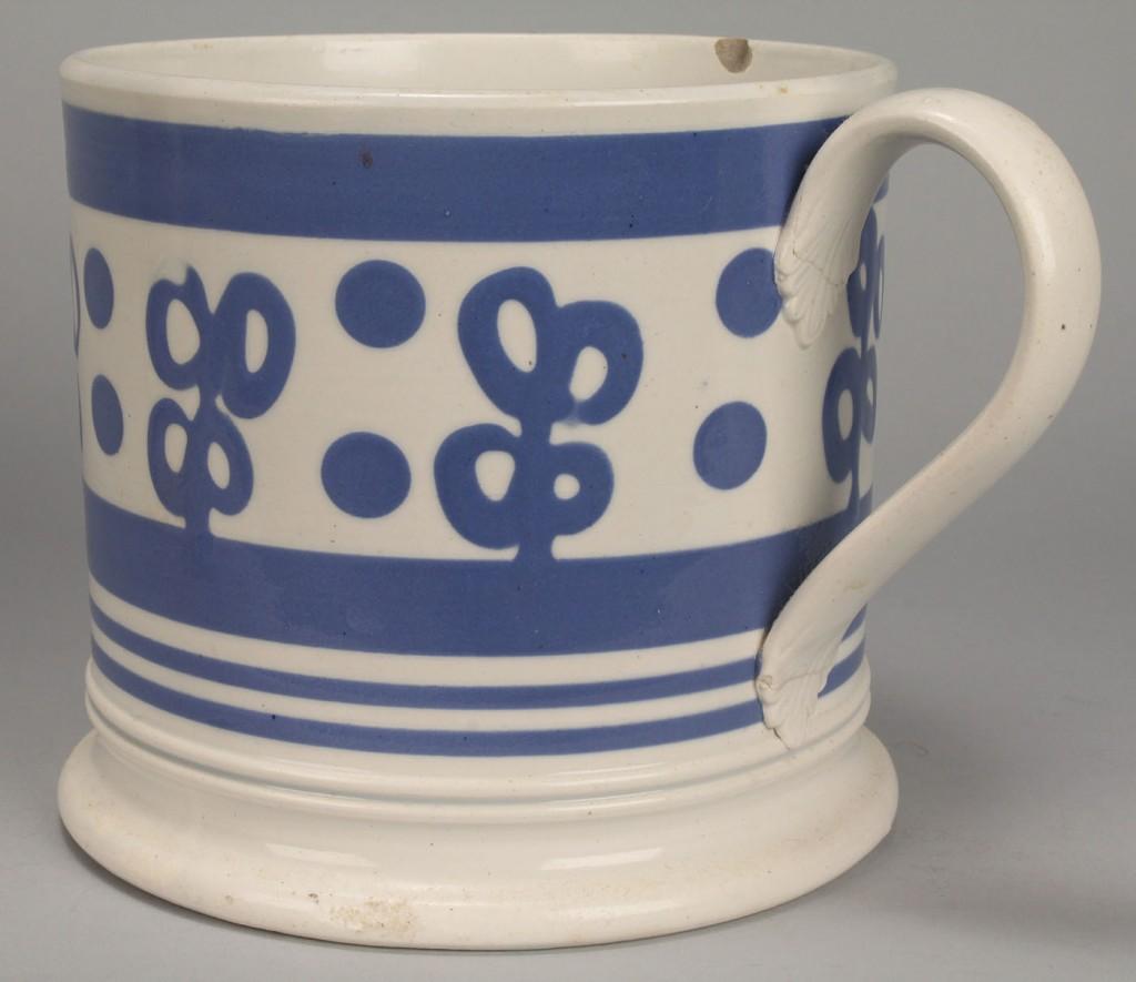 Lot 575: Two Mocha Ware Mugs