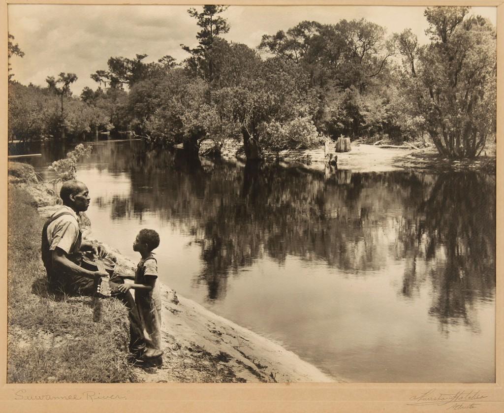 Lot 591: Two Thurston Hatcher Framed GA Photographs