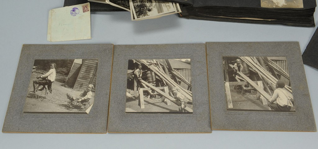 Lot 594: 19th Century Photographs, some African American