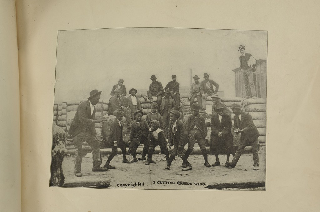Lot 595: Lot of Black Americana, figures and photographs