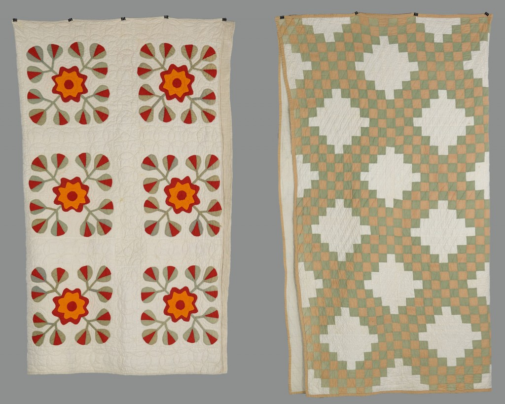 Lot 621: Lot of Two Pike County, Kentucky Quilts