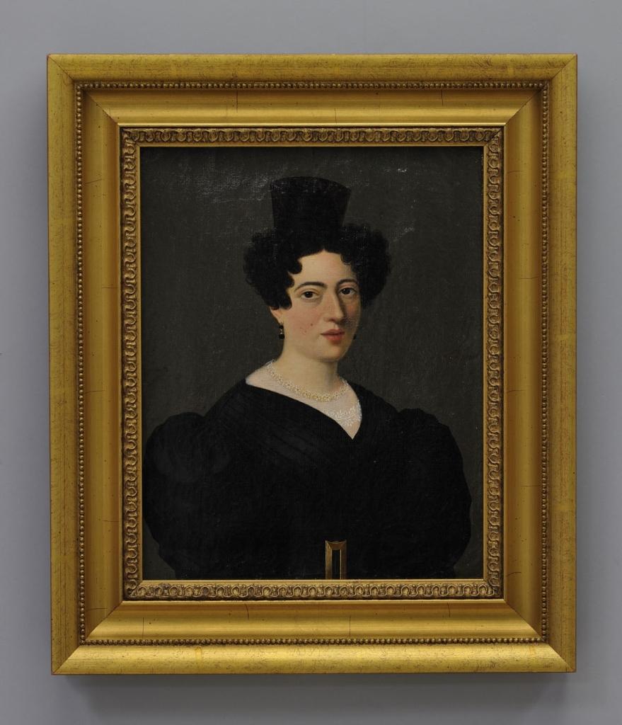 Lot 626: Portrait of a Lady by Jean Antoine Giroust