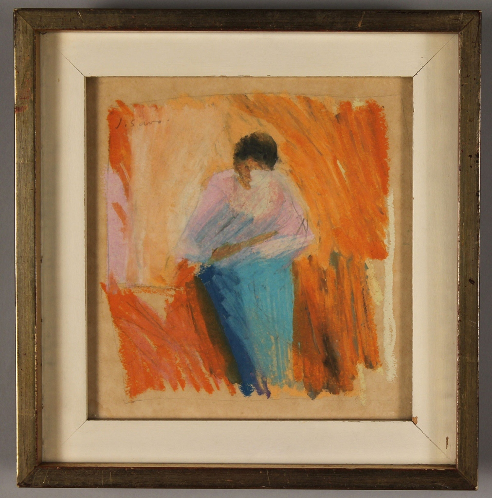 Lot 628: Lot of 2 Pastels, Gwynn Murrill & Joan Savo