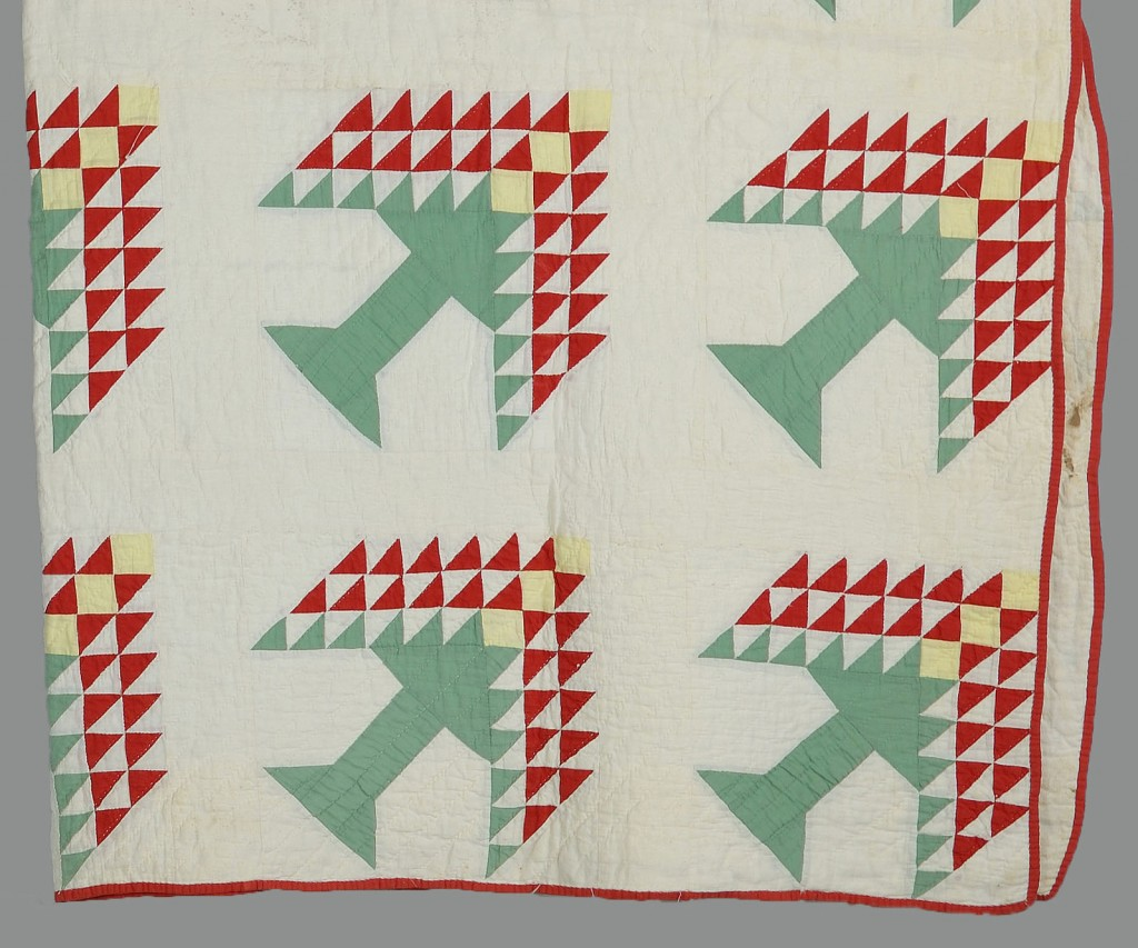 Lot 643: 2 East Tennessee Pieced Cotton Quilts
