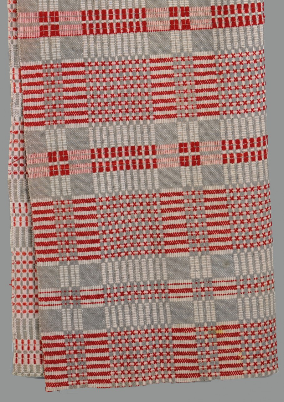 Lot 645: 2 Southern Woven Coverlets