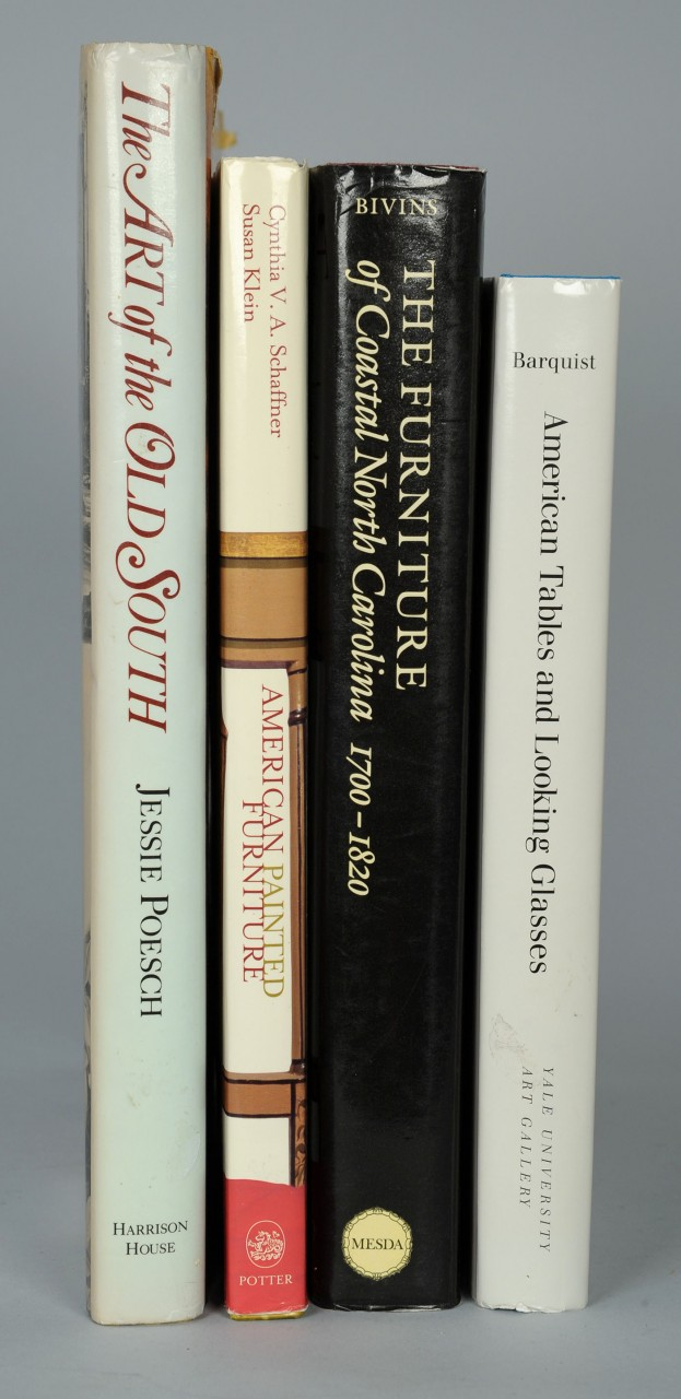 Lot 649: 4 Antiques Books incl. Furniture of Coastal NC