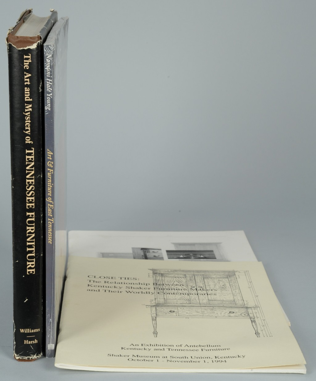 Lot 650: 4 KY & TN Books incl.  Art and Mystery of TN