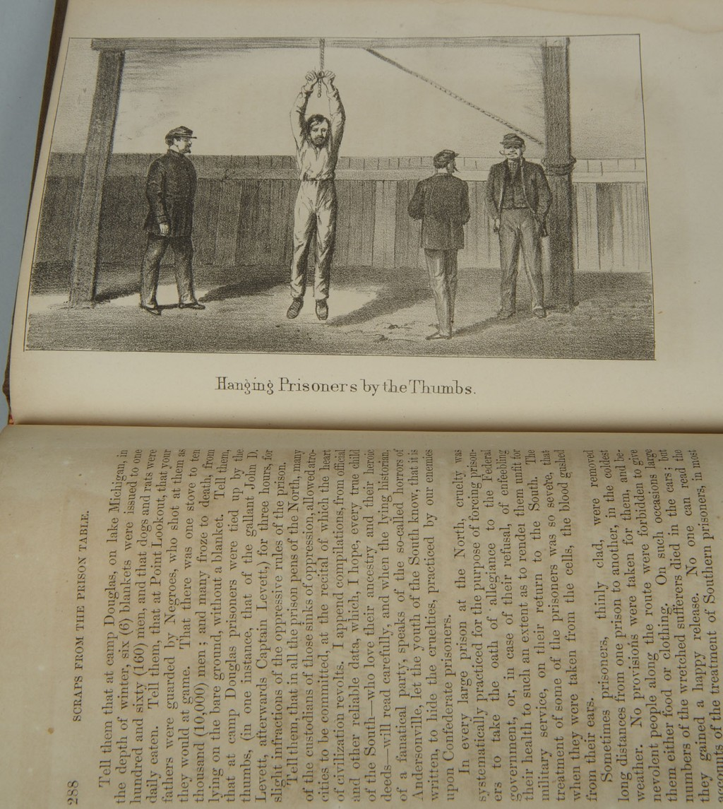 Lot 655: Civil War book: Scraps from the Prison Table