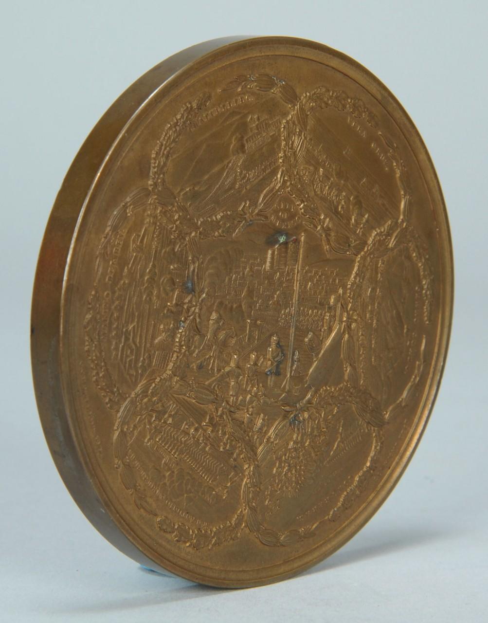 Lot 672: Major Gen. Winfield Scott bronze medal