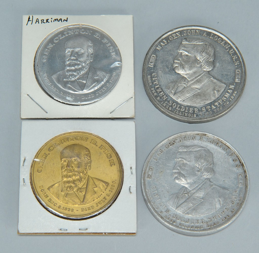 Lot 676: University Commemorative Coins & Advertising