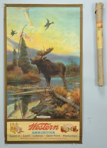 Lot 682: Western Cartridge Co. Ammunition Poster