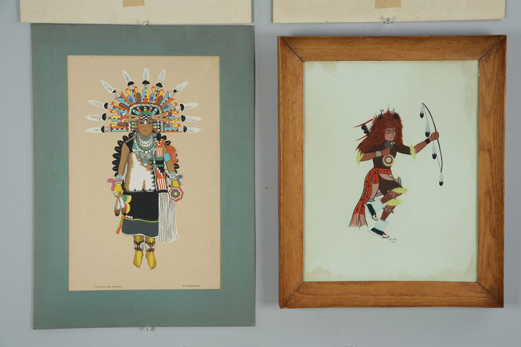 Lot 685: 6 Native American Art Items