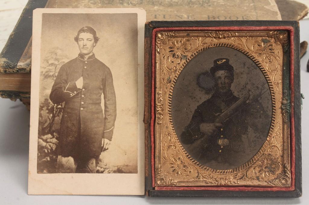 Lot 68: Civil War Archive, Private John W. Vaught,  KIA