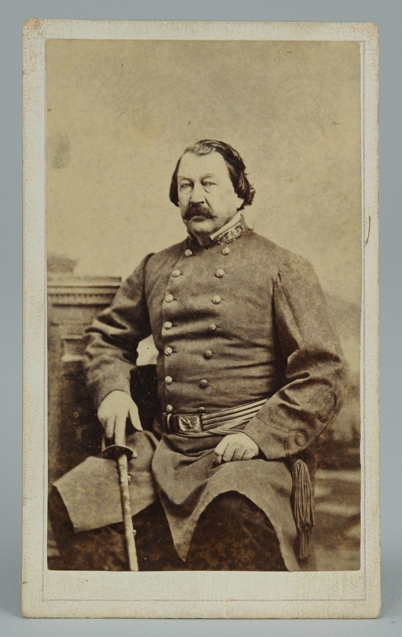 Lot 69 Csa Gen William Raine Peck Cdv And Album