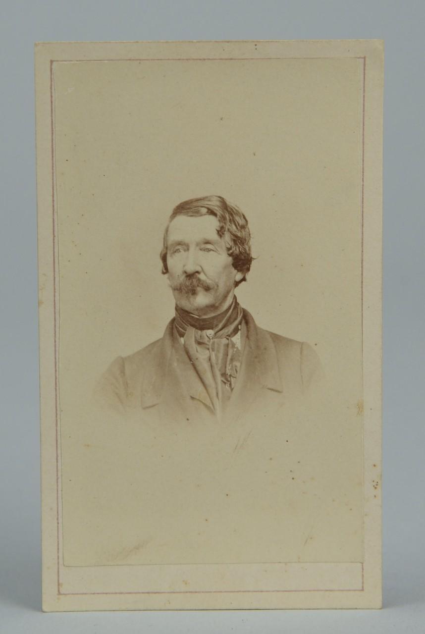 Lot 69: CSA Gen. William Raine Peck CDV and album
