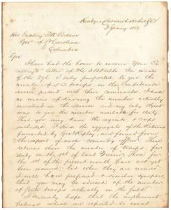Lot 70: 1862 Robert E. Lee War Signed Letter
