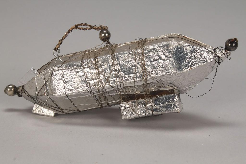 Lot 727: German Christmas Ornament, Graf Zeppelin/ Sebnitz
