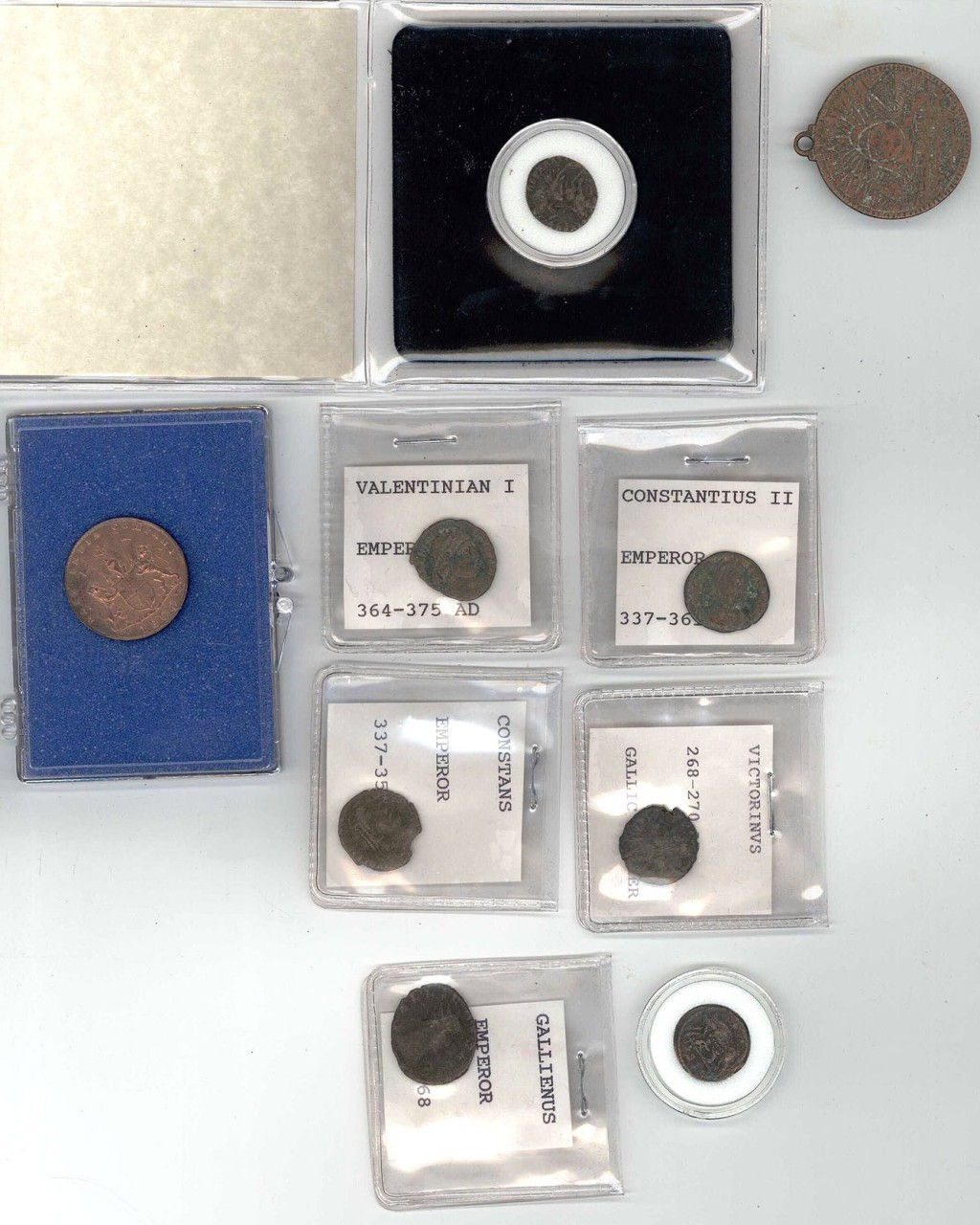 Lot 745: Group of Ancient Coins plus other (18 total)