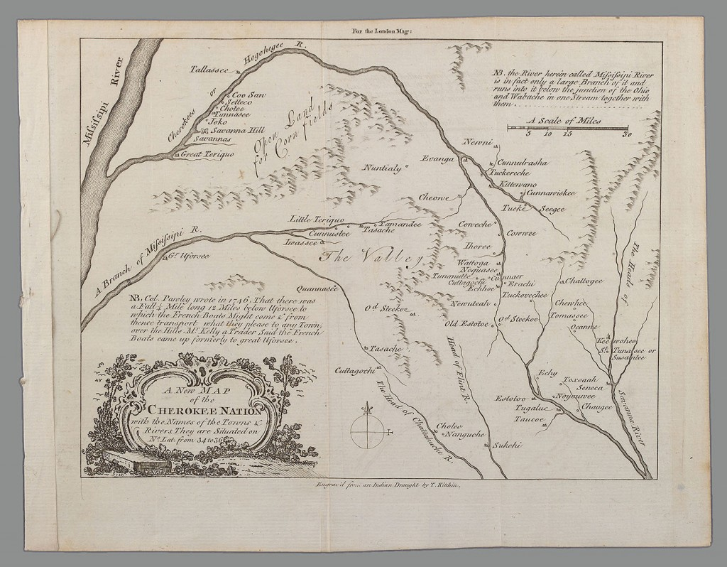 Lot 74: A New Map of the Cherokee Nation