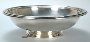 Lot 753: Gorham Sterling Silver Footed Bowl