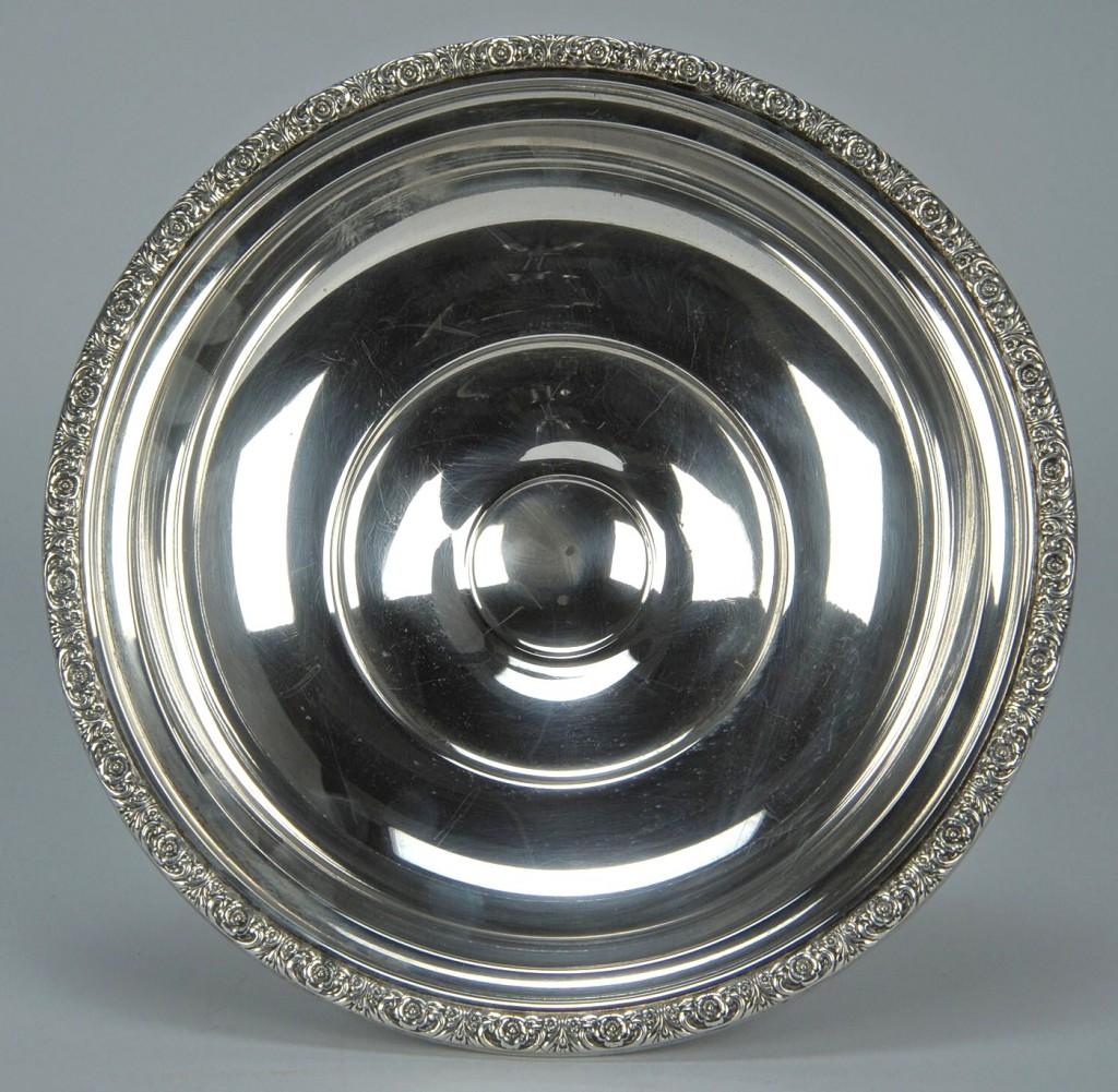 Lot 755: International Prelude Sterling Pedestal Fruit Bowl