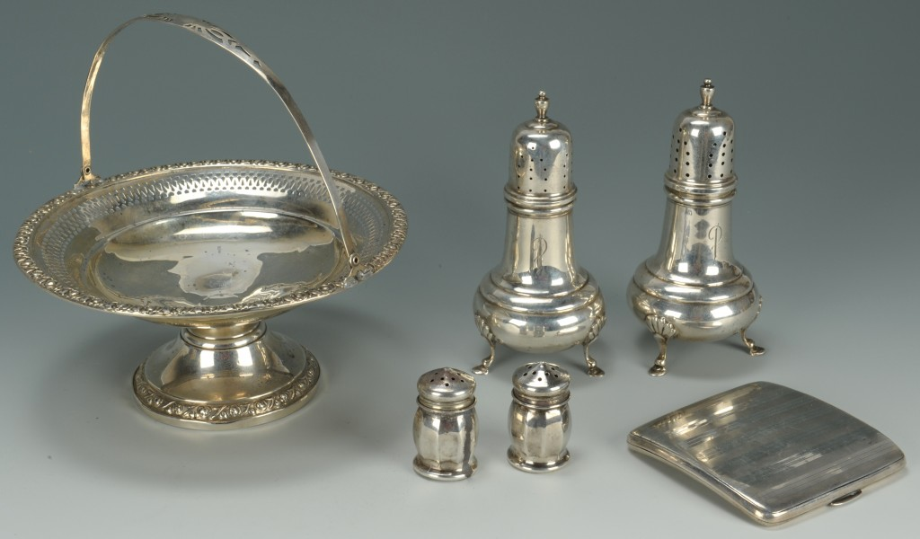 Lot 759: Sterling grouping including Gorham