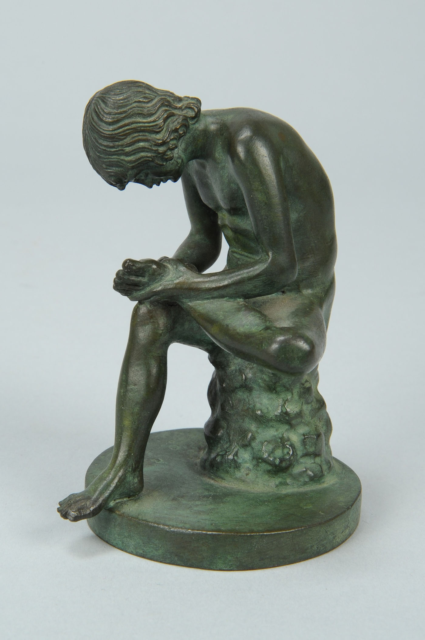 Lot 767: Two Small Sculptures, including Spinario
