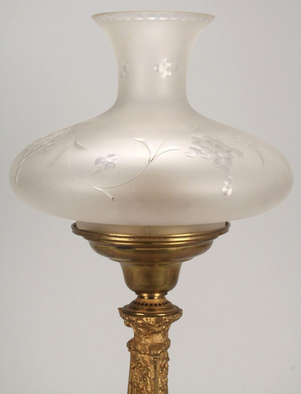 Lot 782: Cornelius Argand Lamp