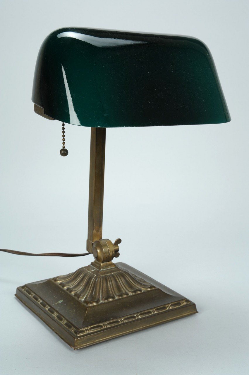 Lot 783: Lot of 2 lamps: Emerlite and Bradley Hubbard style