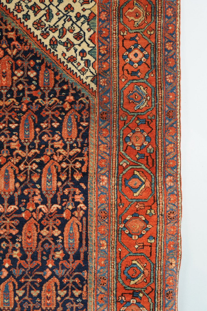 "Lot 799: Bijar Area Rug, 6'9"" X 4'5"""