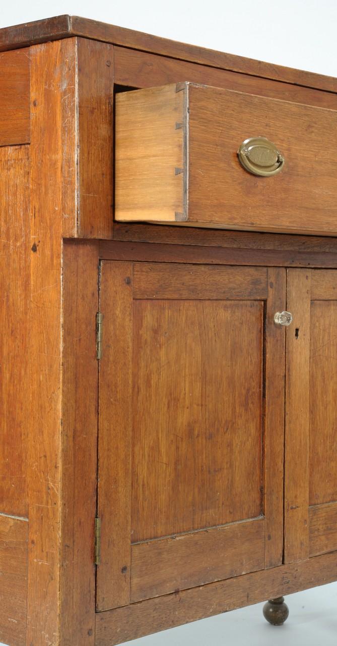 Lot 82: Virginia Sheraton walnut press