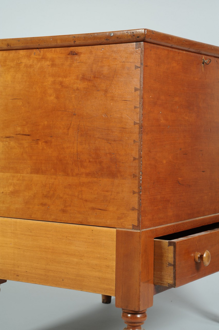 Lot 88: TN or KY Sheraton Cherry Sugar Chest
