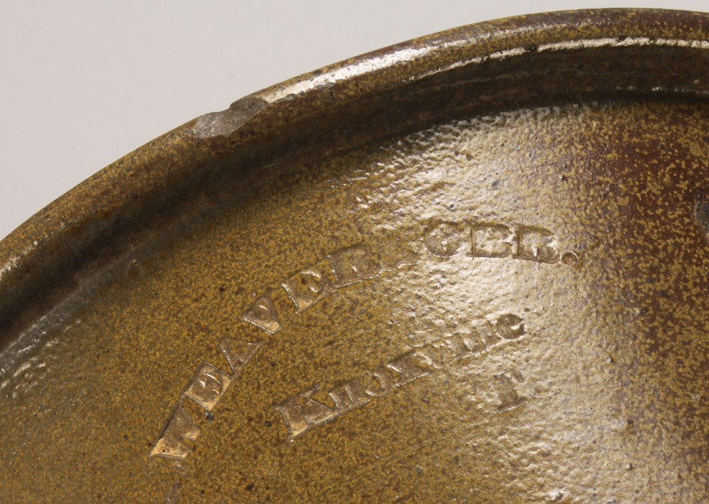 Lot 90: Knoxville, TN Weaver Bros. Pottery Bowl, Marked