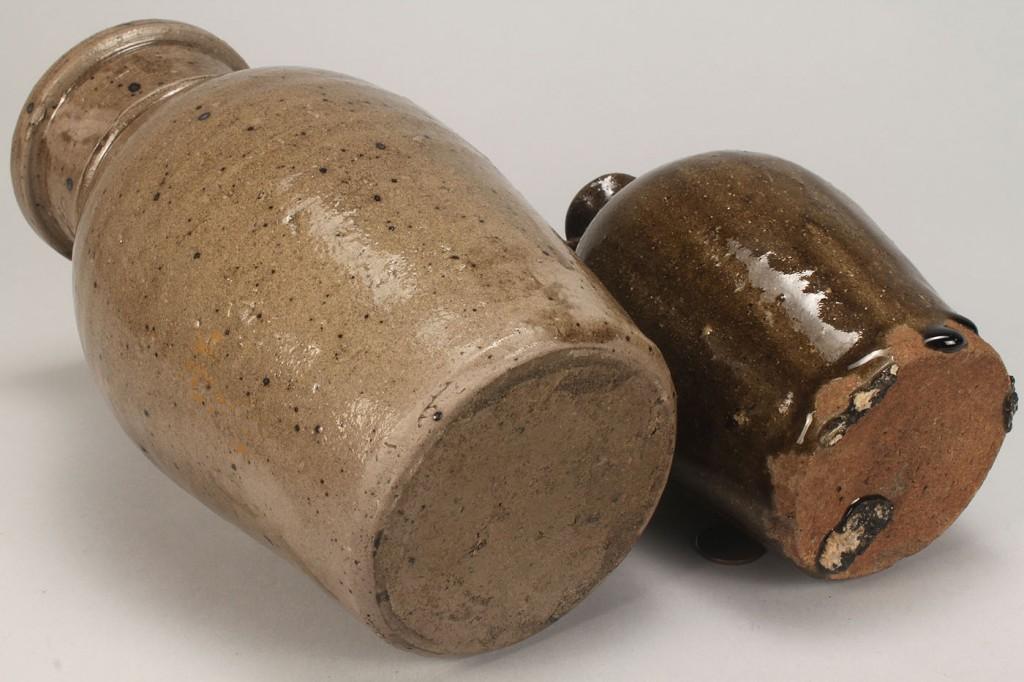 Lot 95: SC Alkaline Storage Jar and  NC Alkaline Jug